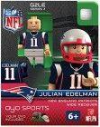 NFL New England Patriots Julian Edelman Gen 2 Mini Figure, Small #nfl #oyo #minifig #fottball #patriots