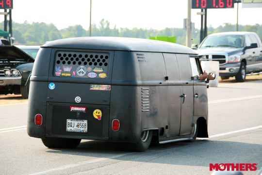 tubbed combi at mothers hot rod power tour 2011 vans pinterest mothers buses and vehicles. Black Bedroom Furniture Sets. Home Design Ideas