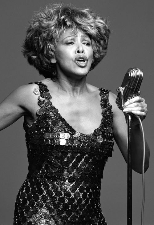 """I believe that if you'll just stand up and go, life will open up for you.""   Tina Turner is 74! What a strong and wonderful woman!"