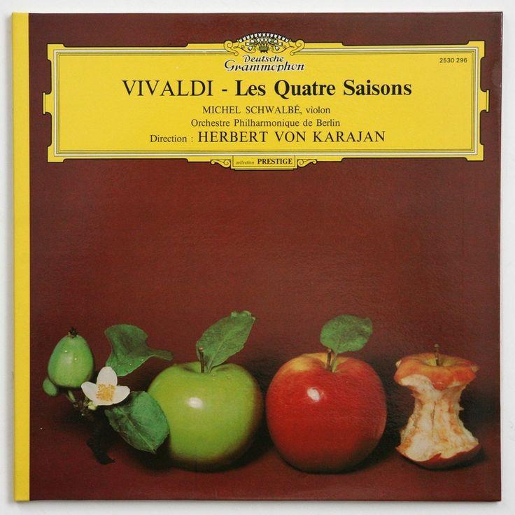 herbert von karajan Vivaldi - Les quatre saisons 33T