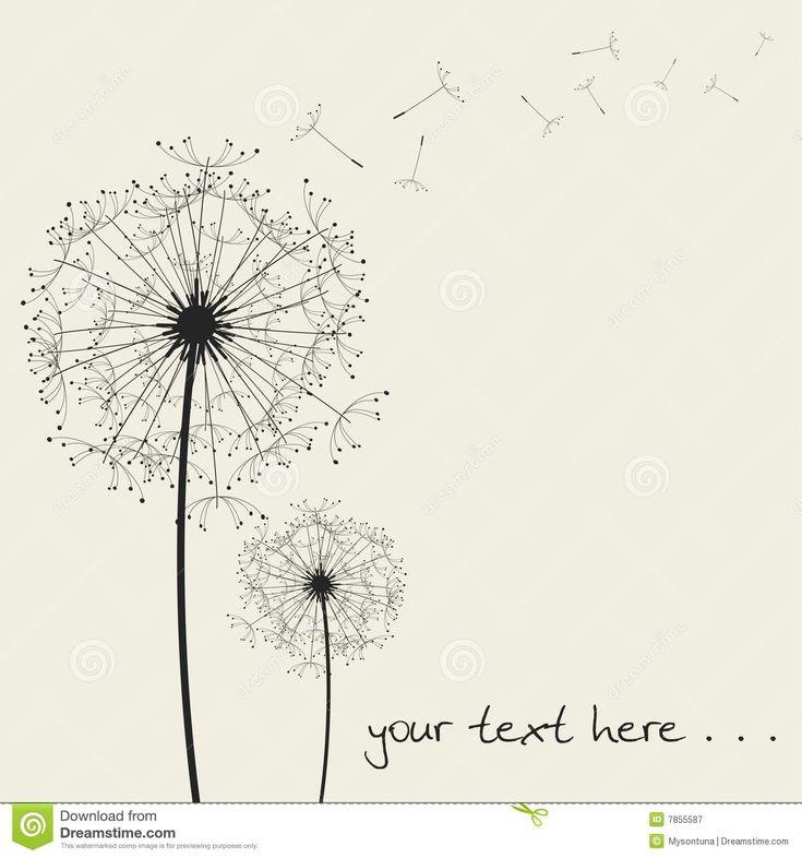 dandelion drawing - Pesquisa Google