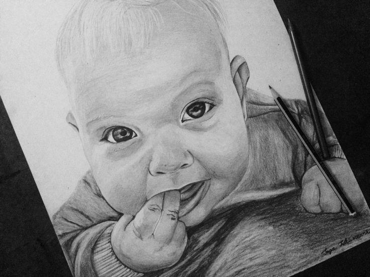 Drawing by Inga Kaliszewska