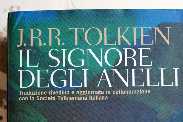 J.R.R. Tolkien, Il Signore degli anelli (The Lord of the Rings)