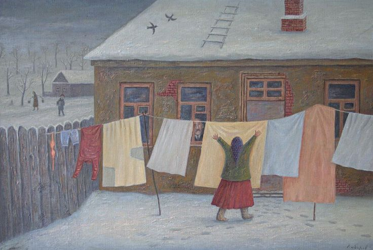 """It is freezing"" by Vladimir Lubarov"