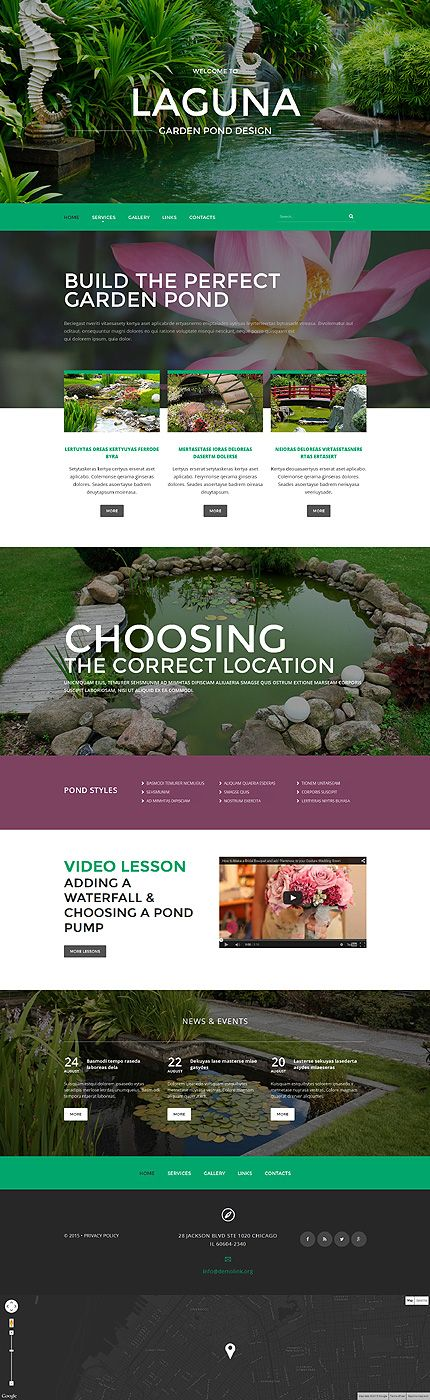 11 Best Images About Web Design — Gardening, Natural On Pinterest