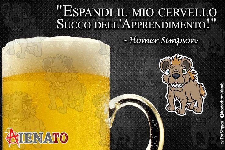 #aIENAto #HomerSimson #Birra #Cervello
