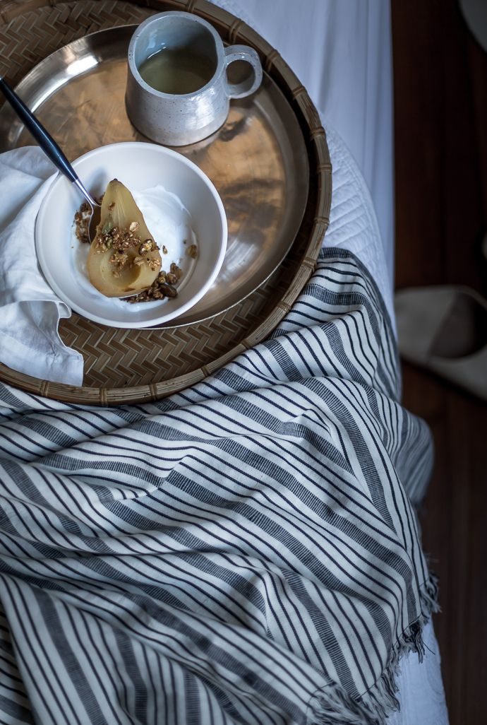 Pistachio Granola with Poached Pears cottage farm.krissy oshea photography   2016-3