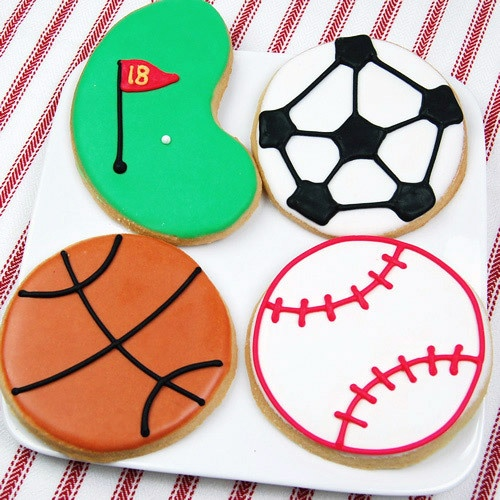 cookies. Just needs a volleyball :)