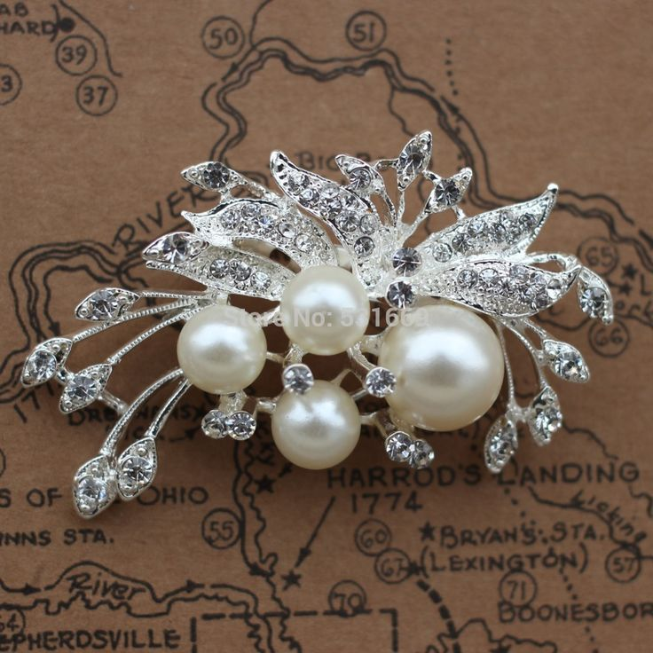 Cheap brooch china, Buy Quality brooch silver directly from China brooch animal Suppliers:Classic!!Crystal Rhinestone And Pearl Brooch Silver plated Snowflake Style Brooches For Wedding Bouquets Christmas Gift