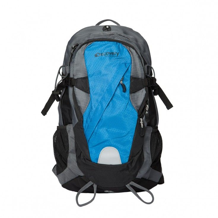 Discovery Channel Backpack - Blue/Grey