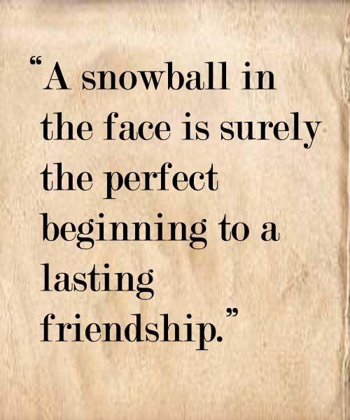 Lasting Friendship