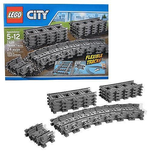 LEGO City Trains 7499 Flexible Tracks