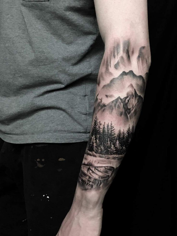Norwegian landscape by Bjarke Andersen at Sinners Inc Denmark
