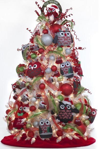 arboles de navidad decorados buscar con google