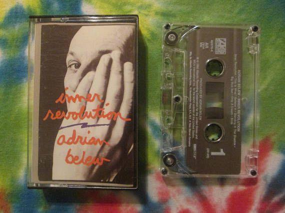 Adrian Belew Inner Revolution Cassette Tape