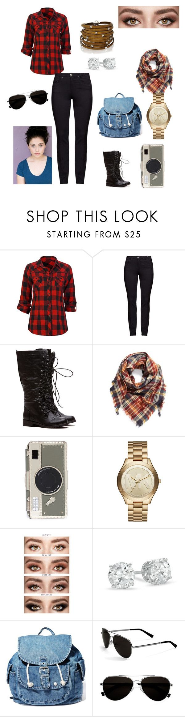 """""""Abigail Turner"""" by bruna-rogers on Polyvore featuring Full Tilt, DNY, BP., Kate Spade, Michael Kors, Dance & Marvel, Calvin Klein, Sif Jakobs Jewellery and plus size clothing"""