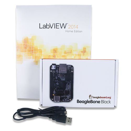 The BeagleBone Black is now available with LabVIEW in a programming bundle that is perfect for makerspace projects. Quick boot times and double the storage make this bundle an ideal project component for chipKIT or Arduino migration.