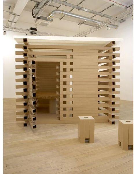 Les mondes en carton de Shigeru Ban. | Décoration maison, meubles maison jardin et design intérieur sur Artdco.net