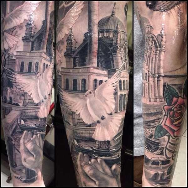 Black & Grey Hyper-Realismus – Tattoo Spirit