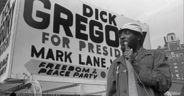 Dick Gregory comediante que prefirió defender los derechos de los negros