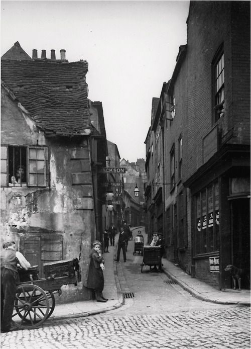 Drury Hill Nottingham 1906