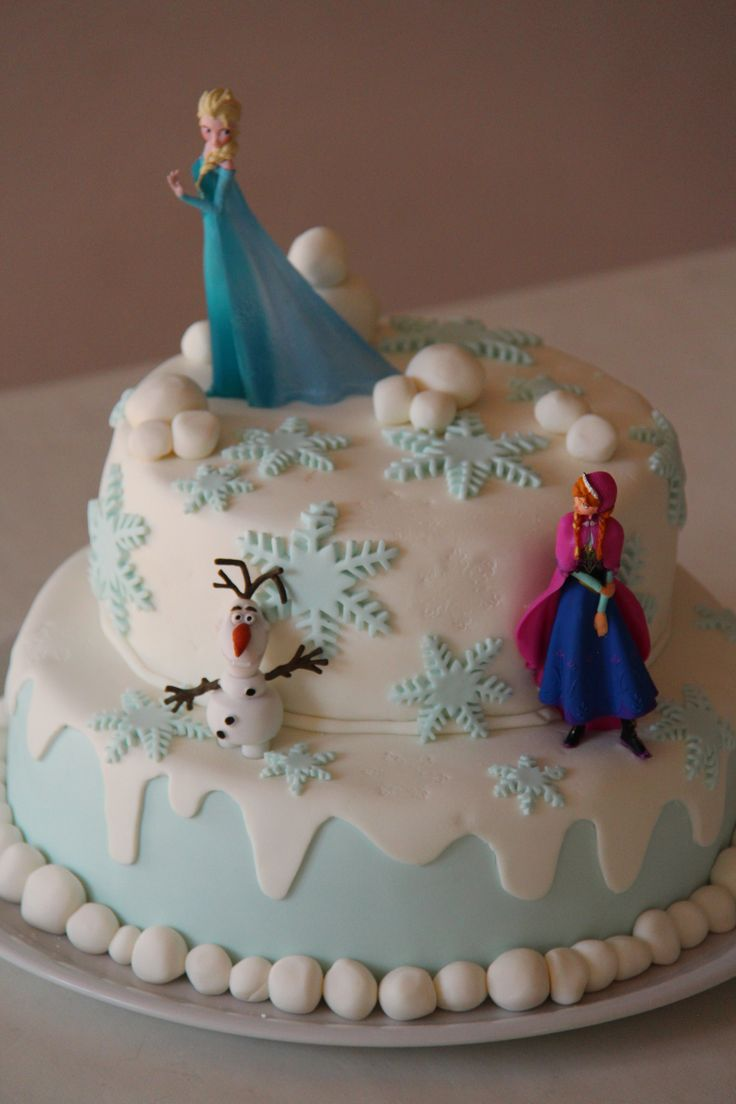 Frozen Decorations For Birthday Cake