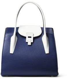 Michael Kors Collection Bancroft Medium Leather Satche  SALE  shopstyle   shopthelook  handbagl bbd864e42b