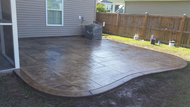 best 25 concrete patio stain ideas on pinterest stain