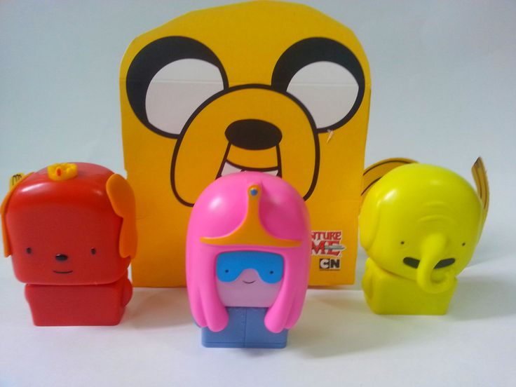 ADVENTURE TIMES MAIN SONG AND REVIE OF MCDONALDS HAPPY MEAL TOYS