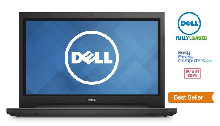 "Cheap Laptops - NEW DELL Laptop Computer 15.6"" Windows 10 Webcam DVD+RW 500GB 4GB (FULLY LOADED) - EasyPeasyComputers"