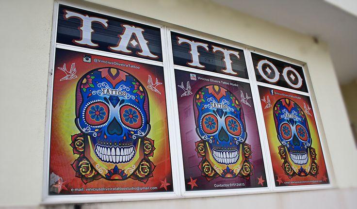 Behindthestudio, skull, tattoo, Montijo, Portugal, Tattoo artist Vinicius Oliveira