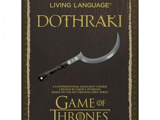 Soon, you too will be able to learn Dothraki - CNET