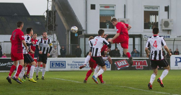 Shaun Rooney scores his first goal for Queen's Park against Elgin City