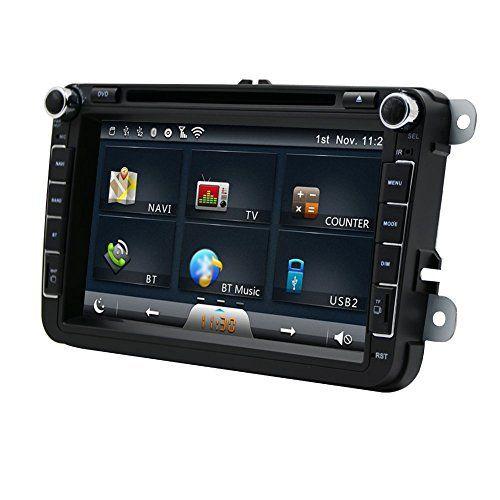 Eincar 8 pouces Double 2 Din Car Stereo Dash Analog GPS TV Navigation Autoradio Bluetooth FM / AM / RDS USB / SD Récepteur radio numérique…