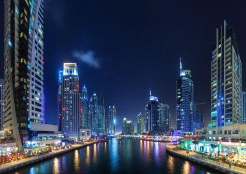 Stock Photo : Dubai Marina