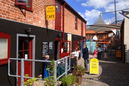 Silver Darlings Café at Time & Tide Museum. Family admission abt £12