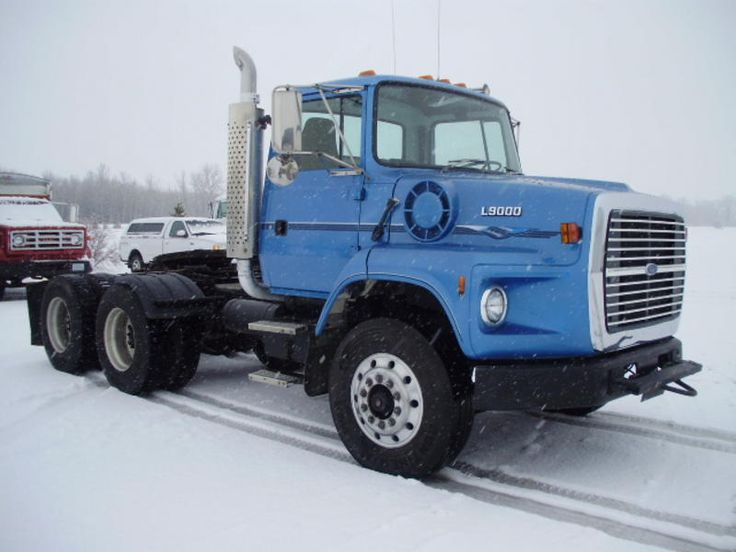 Ford F650 For Sale >> 1992 Ford L9000 #heavyhauling | Classic trucks, Ford ...