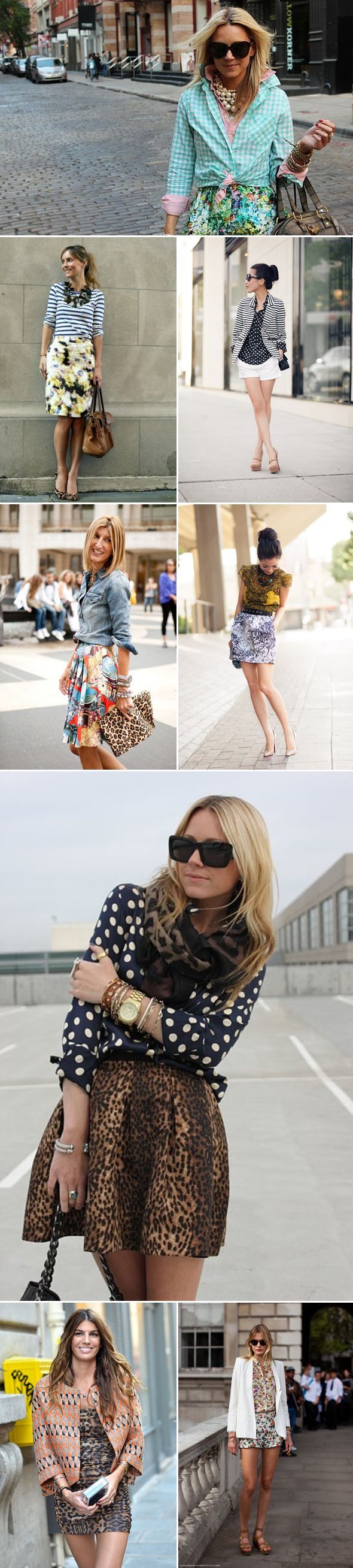 Mixing and Matching Prints, #mix #match #prints #style #fashion, #pant #suit #pantsuit #fall #2012 #style #fashion #trends, via The Style Umbrella Blog