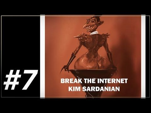 "BREAK THE INTERNET (KIM KARDASHIAN ) : Episode #8This is based on Kim Kardashian Cover in Paper Magazine. ""BREAK THE INTERNET"" #BreakTheInternet  I changed the name for the alien in the concept. #BreakTheInternet #TUTORIALES #conceptart #painting"