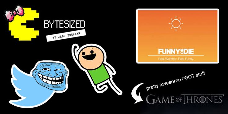 Game of Thrones gets a 90's makeover, a funny weather app from Funny or Die that gets you and more in Bytesized. Your weekly update in snackable bytes.