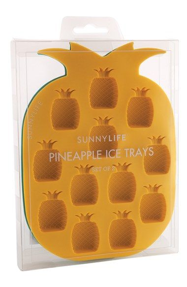 Sunnylife Pineapple Ice Cube Tray (Set of 2) | Nordstrom