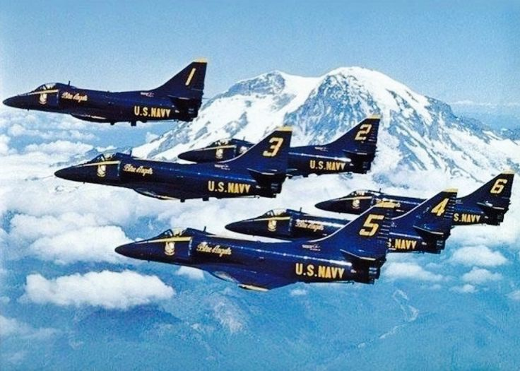The Blue Angels, A-4s
