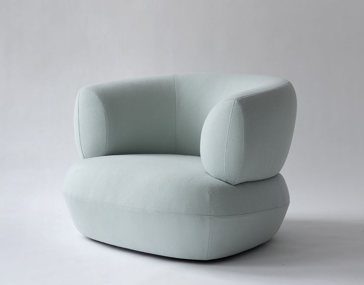 SOFT BLUE CHAIRS | Modern design for you home | www.bocadolobo.com/ #modernchairs #chairideas