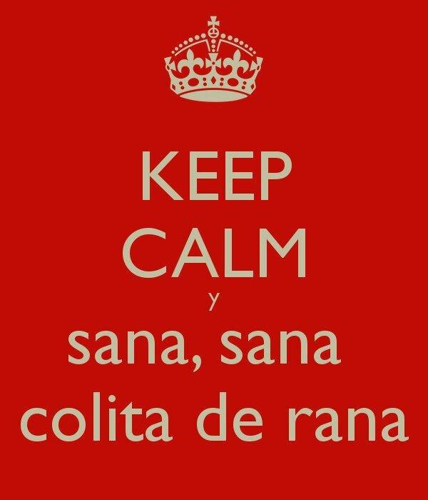 Sana. Sana Colita De Rana