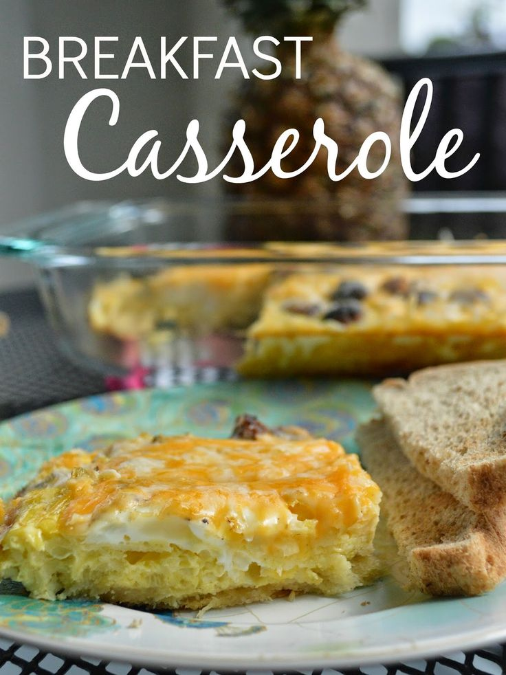 a southern style: Brunching: Breakfast Casserole