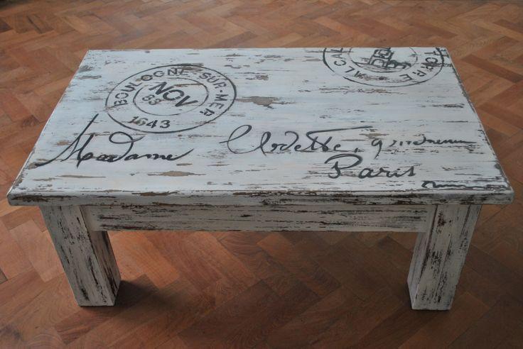 Mesa con sellos | Rincón de Inventos