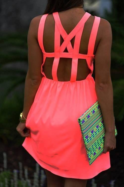 Pink dress <3