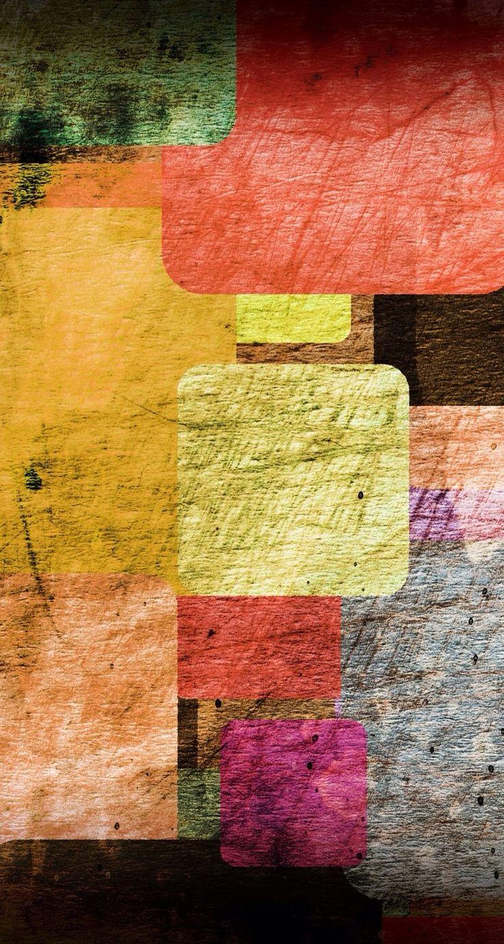 質感がオシャレなカラフルiPhone壁紙 | iPhone5s壁紙/待受画像ギャラリー