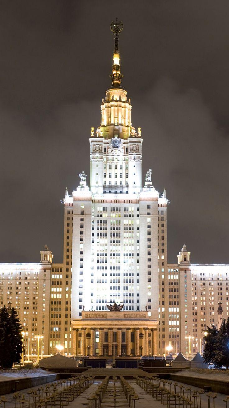 Moscow University, Lomonosovski Universitet  Moscow, Russia
