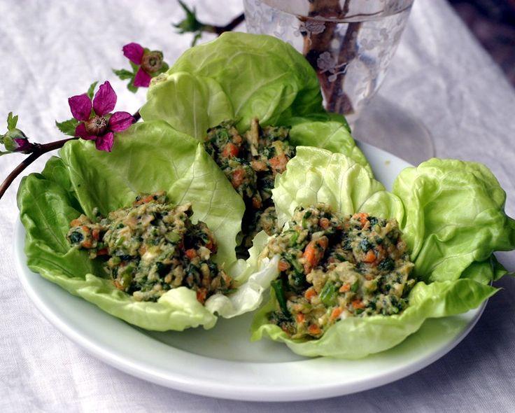 Duvida uma asian lettuce salad recipe and big